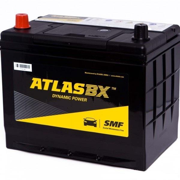 Ắc quy ô tô Atlas 65Ah MF75D23R