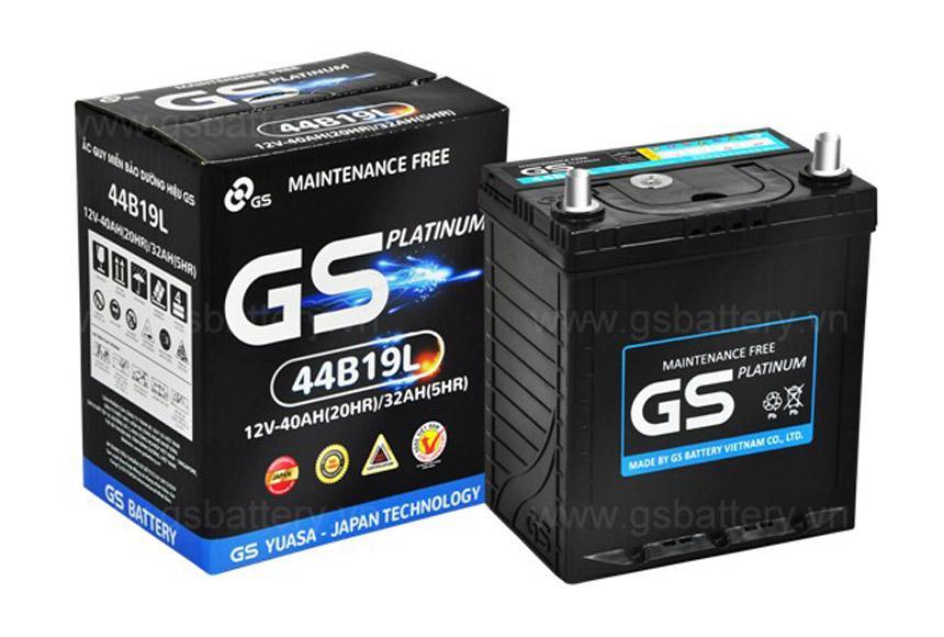 Bình Ắc quy ô tô GS 65Ah MF75D23R
