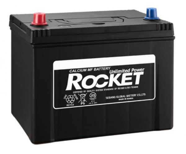Bình Ắc quy ô tô Rocket 60Ah 55D23L
